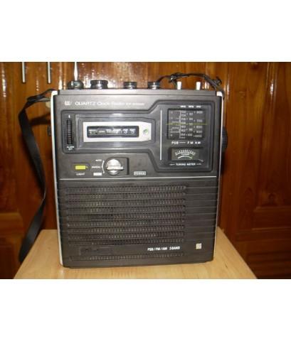 วิทยุ SONY ICF-3000W 3Band CLOCK-AM-FM-PSB(วิทยุสื่อสารย่าน VHF) ใช้งานได้ปกติ