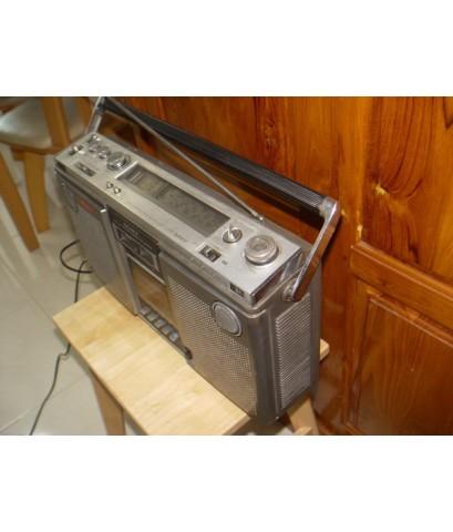วิทยุ SONY CF-575S Stereo ใช้งานได้ทั้งเทปและวิทยุ เสียงดี