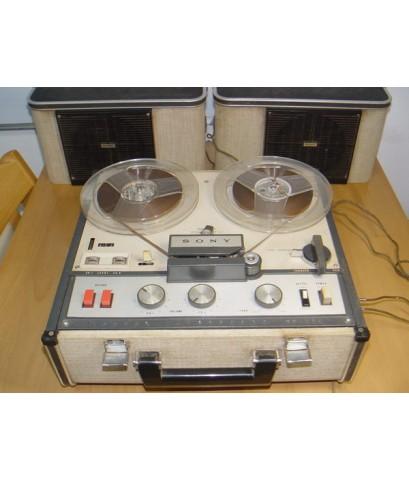SONY TC-200 Tape Reel to Reel Stereo หลอด ใช้งานได้ปกติ