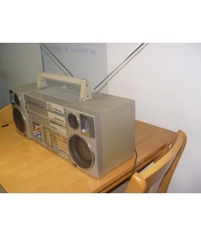 JVC P-Compo วิทยุ-เทป Stereo Auto Reverse ใช้งานได้ปกติ