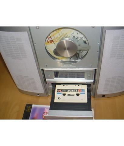 Sansui Micro 100C CD TAPE TUNER ใช้งานได้ปกติ