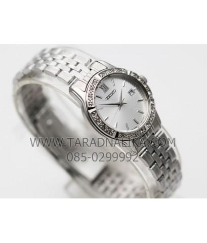 นาฬิกา SEIKO modern lady crystal ควอทซ์ SUR741P1