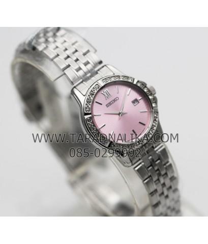 นาฬิกา SEIKO modern lady crystal ควอทซ์ SUR739P1