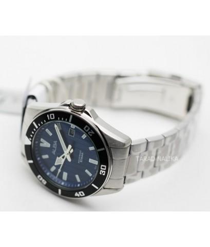 นาฬิกา ALBA Smart gent AG8J33X1 หน้าปัดน้ำเงิน