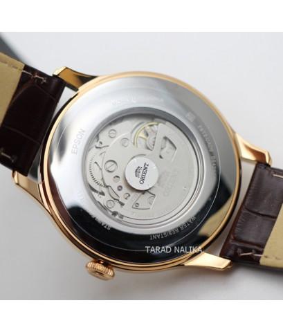 นาฬิกา Orient Automatic Semi skeleton สายหนัง ORRA-AG0012S