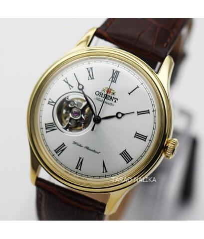 นาฬิกา Orient Automatic Semi skeleton สายหนัง ORAG00002W