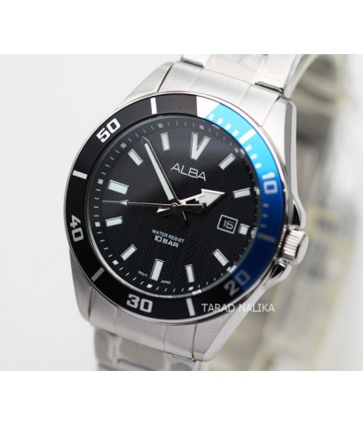 นาฬิกา ALBA Smart gent AG8J37X1 หน้าปัดดำน้ำเงิน