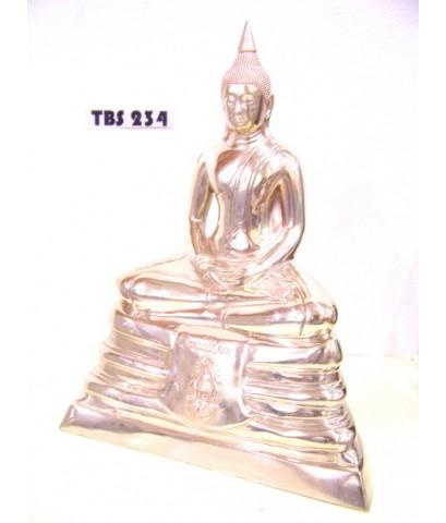 พระบูชาหลวงพ่อโสธร วัดโสธรวรารามวรวิหาร หน้าตัก 9 นิ้ว ภปร. เนื้อทองเหลือง ปี2536