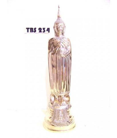พระบูชาหลวงพ่อโต วัดอินทรวิหาร บางขุนพรหม เขต พระนคร สูง 15 นิ้ว กรุงเทพ สิริมงคลชีวิต