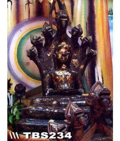 พระบูชาหลวงพ่อนาค หน้าตัก 5 นิ้ว วัดโพธิ์ชัยศรี อำเภอบ้านผือ จังหวัดอุดรธานี สิริมงคลชีวิต