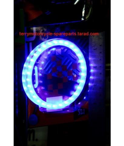 หลอดไฟหน้า โดนัท LED 12V  Donut bulb