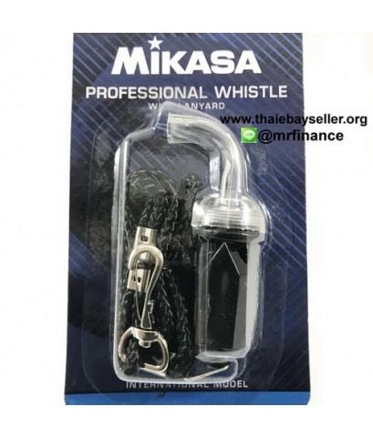 นกหวีด Mikasa WH-5 พร้อมสายคล้องคอ  ของใหม่ ของแท้