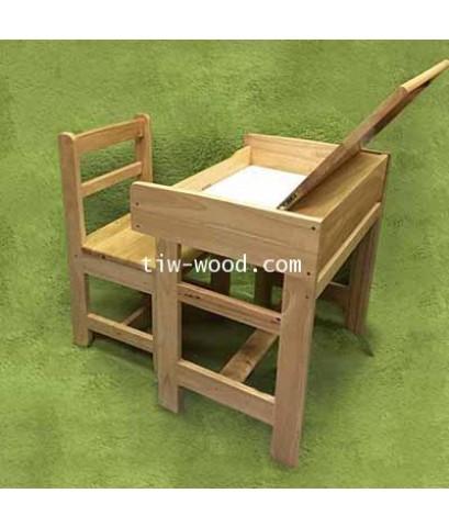 โต๊ะนักเรียน  เป็นฝาโต๊ะได้