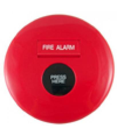 อุปกรณ์แจ้งเหตุชนิดมกด แบบฝัง มีแจ๊คโทรศัพท์+ไฟแสดง (Manual Station) รุ่น WP-06 ยี่ห้อ Warningfire