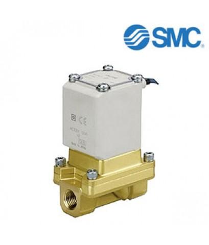 SMC Solenoid Valve VXZ262KGA, 2 port , NC, 24 V dc, 1in