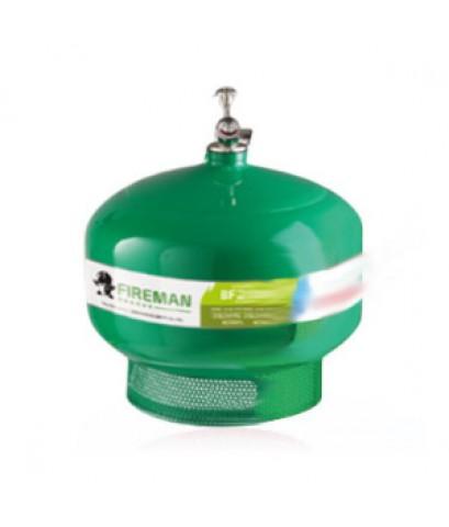 ถังดับเพลิงทำงานเองอัตโนมัติชนิดน้ำยาเหลวระเหยแบบแขวนเพดาน 10 ปอห์น ยี่ห้อ FireMan