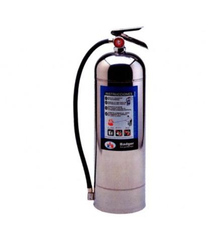 เครื่องดับเพลิงน้ำยาชนิดน้ำ(H2O) ขนาด 9.46 ลิตร รุ่น WP-61 ยี่ห้อ BADGER มาตรฐาน UL
