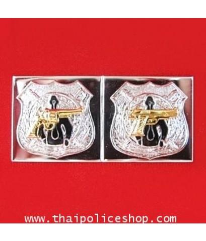 เหรียญ TRC,TPC คู่(เงินปืนทอง)