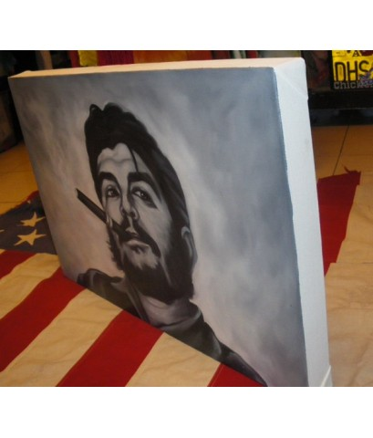 ภาพวาดสี น้ำมันรูป Che guevara