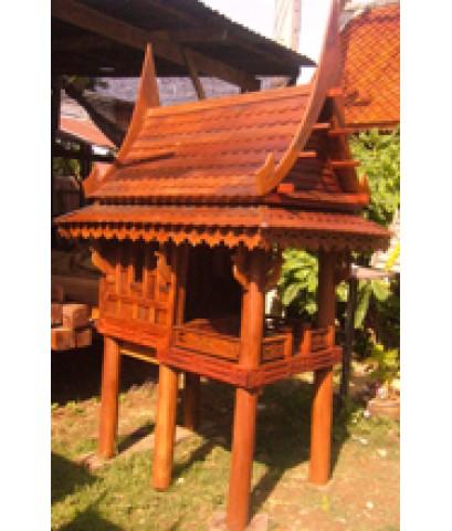 ศาลเจ้าที่ไม้ทรงไทย 1