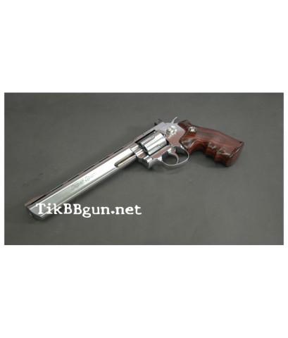 ปืนอัดลม แบบลูกโม่  WINGUN 6นิ้ว  สีเงิน
