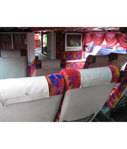 รถบัสให้เช่า รถปรับอากาศ VIP รถบัส 8 ล้อ  2 ชั้น ขนาด 49-50 ที่นั่ง   รุ่นใหม่ล่าสุด ให้เช่า