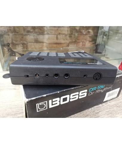 BOSS DR-550 (MADE IN JAPAN) ริทึ่มบอกซ์กลองไฟฟ้า รุ่นประหยัด ซาวด์กลองดีสมจริง เคาะแทนกลองจริง