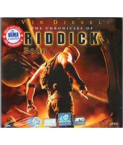 VCD หนังฝรั่งเรื่อง ริดดิด RIDDICK (พากย์ไทย)