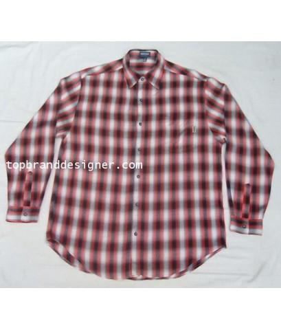 เสื้อเชิ้ตแบรนด์เนม Vintage GUESS rayon used designer clothes ลายเหลือบมือสองลำลองชาย M (SOLD)