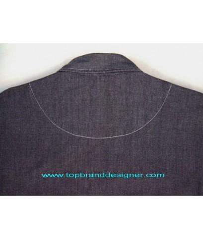 เสื้อเชิ้ตผ้าแชมเบรย์ Vintage UNIQLO Chambray Work Shirt เสื้อมือสอง L (SOLD)