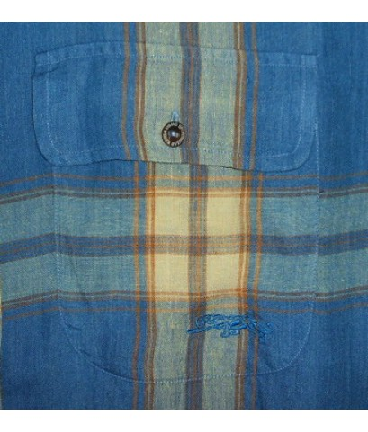 เสื้อผ้าลินิน KRIZIA Linen Italy Shirt Used Designer Clothes แบรนด์เนมมือสองของแท้ M (SOLD)