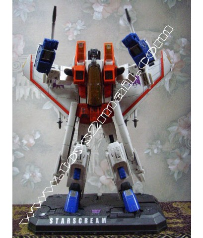 TRANSFORMERS MASTER PIECE : MP STARSCREAM [OPEN IT!!!] [SOLD OUT]