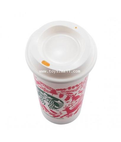 STARBUCKS : 2017 KERMIT STARBUCKS Taiwan 16oz Reuseable Cup แก้วรียูสฯน้ำน่ารักเก๋ไก๋ [10]