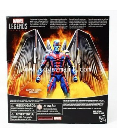 MARVEL LEGENDS 2018 : MARVEL LEGENDS SERIES : X-MEN / X-FORCE : ARCHANGEL [1]