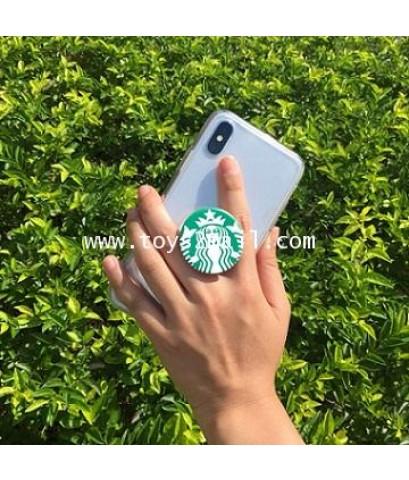 STARBUCKS : TAIWAN 2018 PHONE GRIP  STAND [GREEN] ที่จับโทรศัพท์และสแตนท์ตั้ง (สีเขียว) [2]