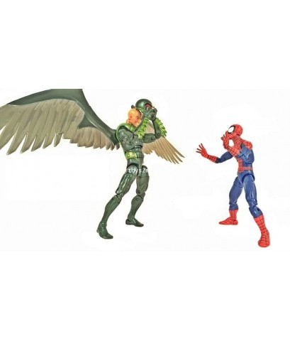 MARVEL LEGENDS 2018 : SPIDER-MAN vs VULTURE COMIC Ver. Wallmart EXCLUSIVE [RARE] [SOLD OUT]