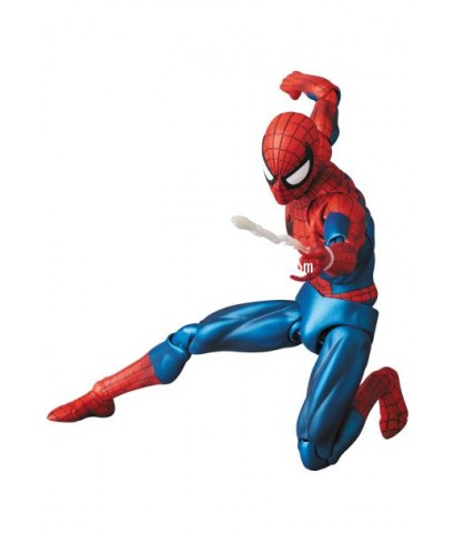 MARVEL : MAFEX 075 THE AMAZING SPIDER-MAN (Comic Ver.) ล๊อตญี่ปุ่น [SOLD OUT]
