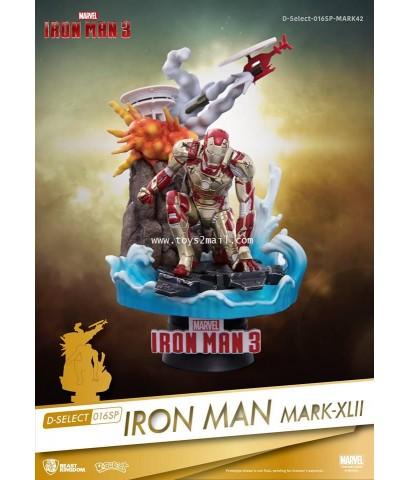BEAST KINGDOM : D-SELECT 016 : IRON MAN 3 : IRON MAN MK 42 [2]
