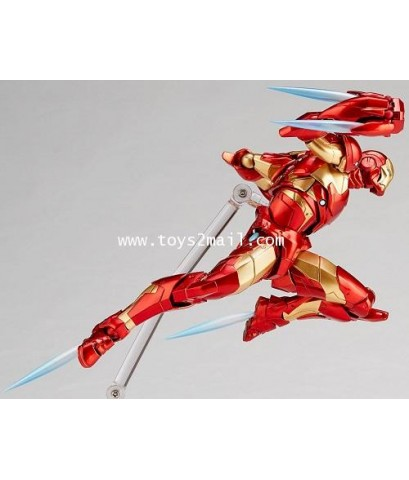 REVOLTECH : AMAZING YAMAGUCHI Series 013 : AVENGERS IRON MAN BLEEDING EDGE ARMOR [ล๊อต JAPAN] [1]