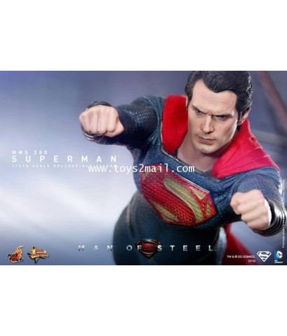 HOT TOYS : MMS200/201/216 MAN OF STEEL SET 1/6 SCALE Limited Edition 12 inch Figure [SET OF 3]