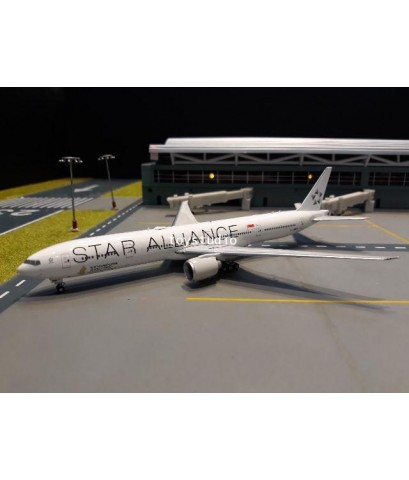 PHOENIX 1:400 Singapore 777-300ER 9V-SWM Star Alliance P4269