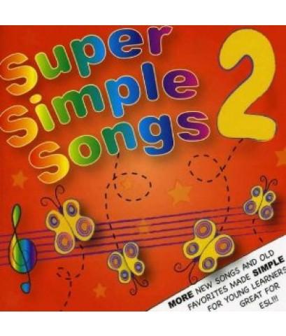 พลงเสริมทักษะภาษาอังกฤษ Super Simple Songs Vol.2 (CD 1 แผ่น) รวม 23 เพลง