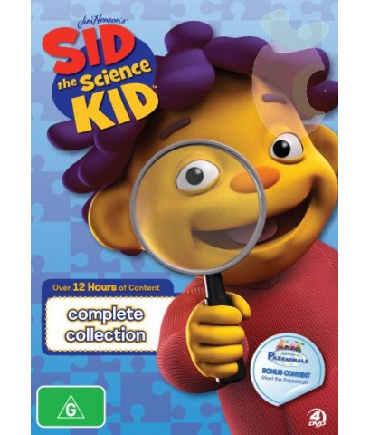 Sid The Science Kid : Super Science Collection (พากย์อังกฤษ) DVD 5 แผ่น