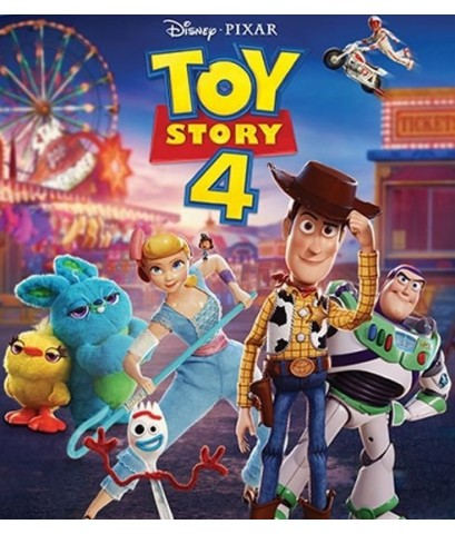 Toy Story 4 ทอย สตอรี่ ภาค 4 (1DVD) พากย์+ซับ 2 ภาษา: ไทย,อังกฤษ