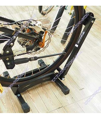 ขาตั้งจักรยานแบบเสียบล้อ แบบพับเก็บได้
