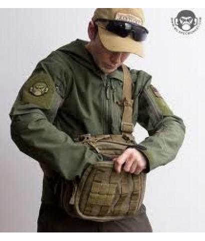 กระเป๋าเป้ 5.11 Tactical Rush MOAB 6 - สี Black/Sand
