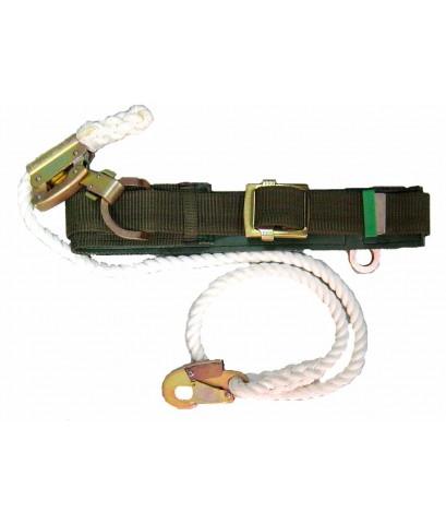 เข็มขัดปีนเสา pole safety belt for lineman work/NEW-178