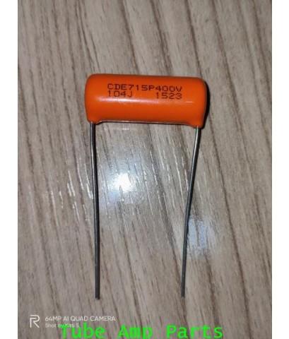 C 0.1uf 400V Orange Drop