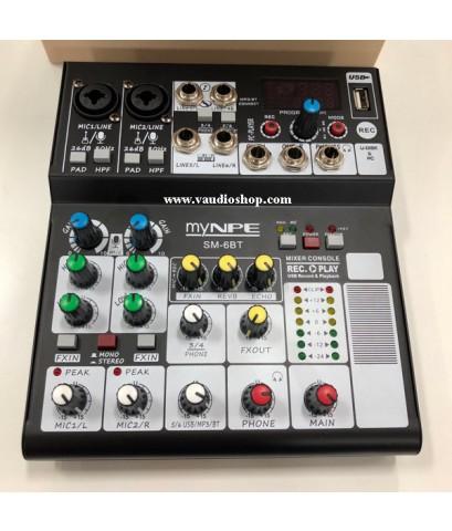 Mixer My NPE SM-6BT (USB, Bluetooth)
