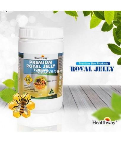 นมผึ้ง Healthway Premium Royal Jelly 1200mg ซื้อ1แถม1พิเศษราคาส่ง